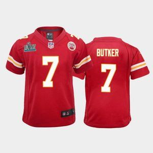 Youth Chiefs Harrison Butker Super Bowl LIV Jersey